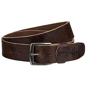 Billy the kid unisex leather belt with buckle M424-22