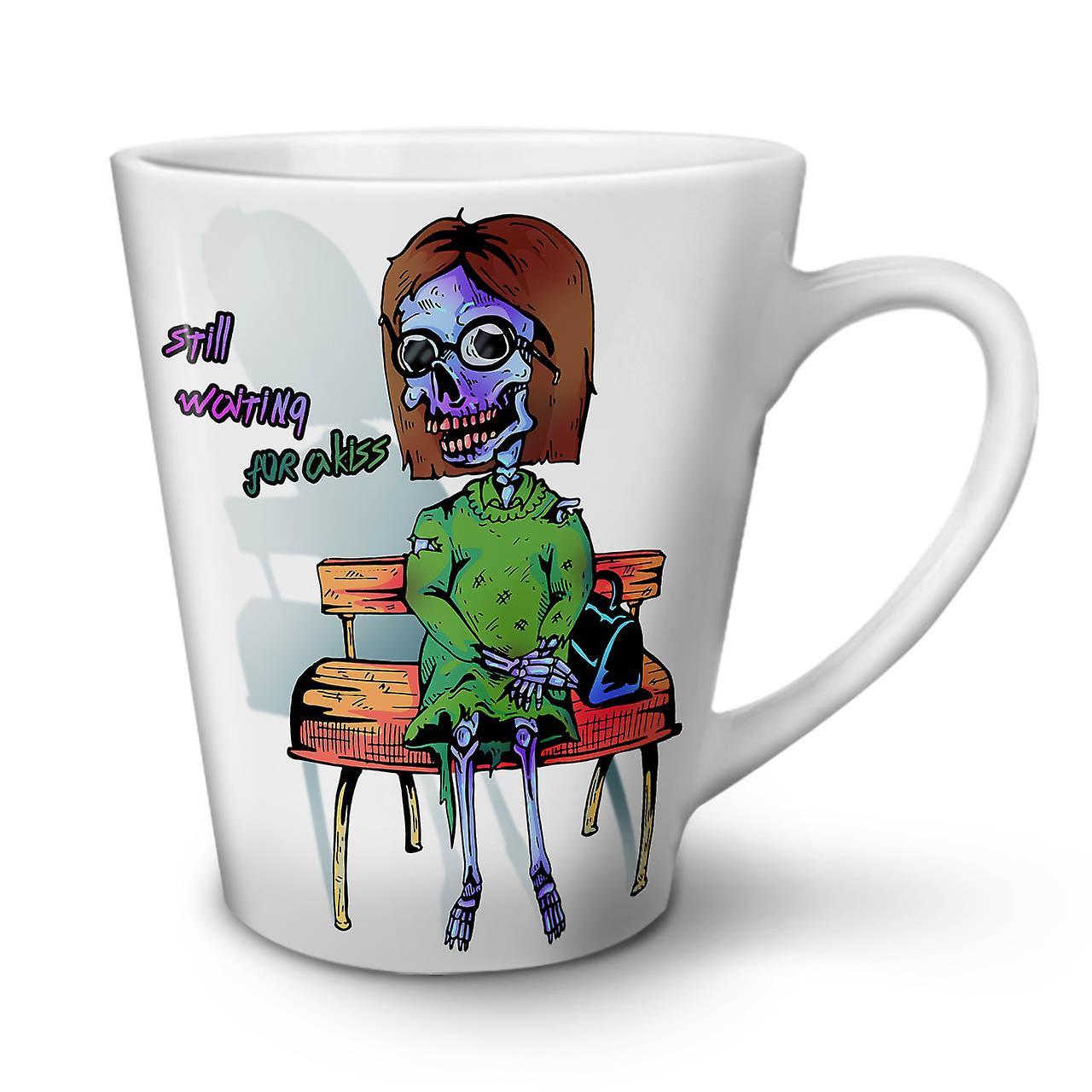 Tasse En Céramique Morts Attente OzWellcoda Kiss Nouvelle Blanche Café Latte 12 0OPk8nw