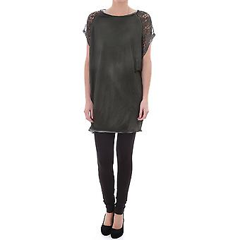 Diesel Womens Sheer Camoflage Tunic Dress