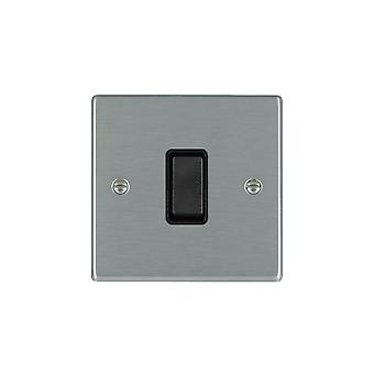 Hamilton Litestat Hartland Satin Stainless 1G 10AX 2W Light Switch