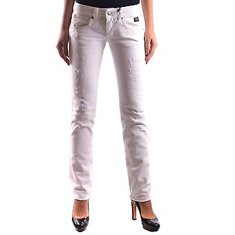Roy Roger's ladies MCBI262015O white cotton of jeans