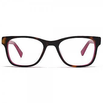 Hook LDN Rhapsody Glasses In Tortoiseshell On Pink