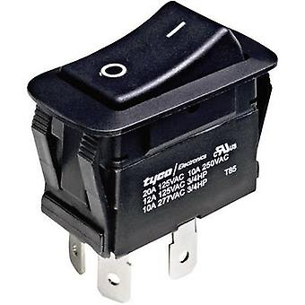 Toggle switch 250 V AC 10 A 1 x Off/On TE Connectivity