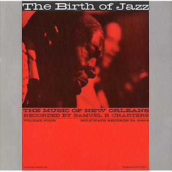 Music of New Orleans - Music of New Orleans: Vol. 4-Birth of Jazz [CD] USA import