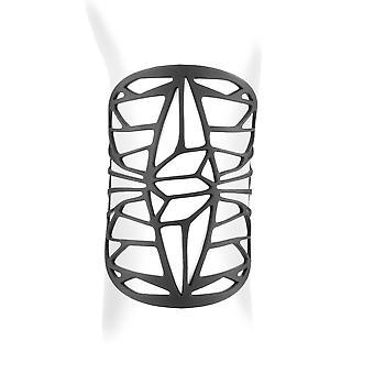 Armband Manschette Design in Silikon schwarz Tattoo-Effekt