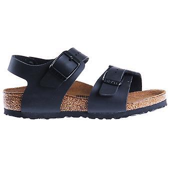 Birkenstock New York Kids BF zwart kids 187603 universele zomer schoenen