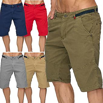 Men's Chino Shorts Summer Bermuda short trousers designer leisure time knee-length vintage