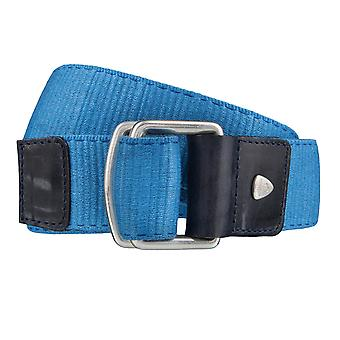 Strellson belts men's belts textile belt blue 4044