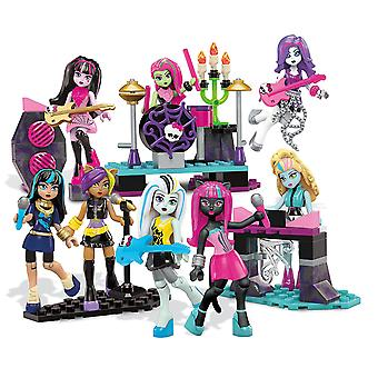 Mega Bloks Monster High Glam Ghoul Band Building Playset Childrens Toy 182 PCS