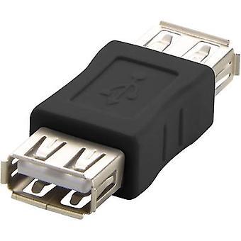 Renkforce USB 2.0 Adapter [1 x USB 2.0 poort A - 1 x USB 2.0 poort A] rf-usba-04