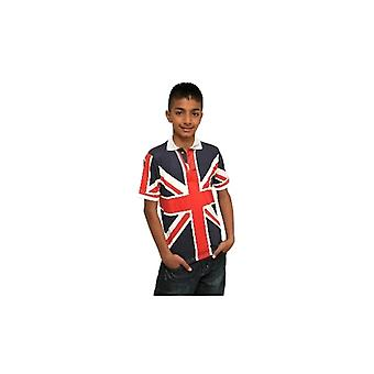 Union Jack usure enfants Union Jack Polo Shirt