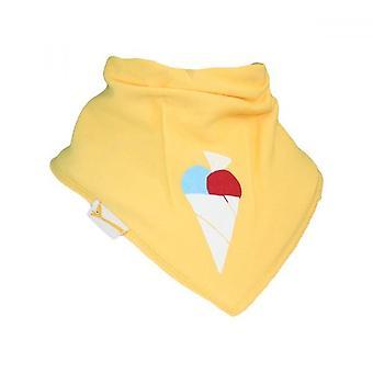 Babero bandana de amarillo helado