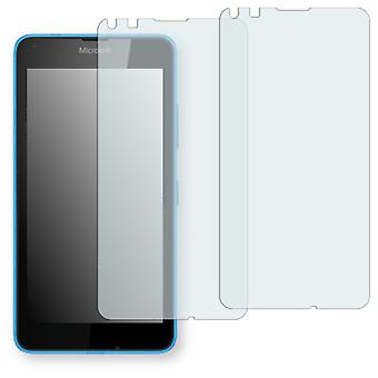 Microsoft Lumia 640 LTE display protector - Golebo crystal clear protection film