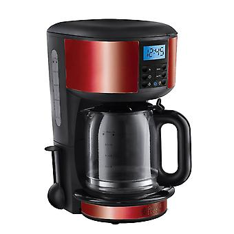 Russell Hobbs 20682 Legacy Coffee Maker Machine 10 cups 1.25L - Metallic Red