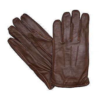LLOYD mens gloves gloves cowhide leather, Antique Cognac 7628