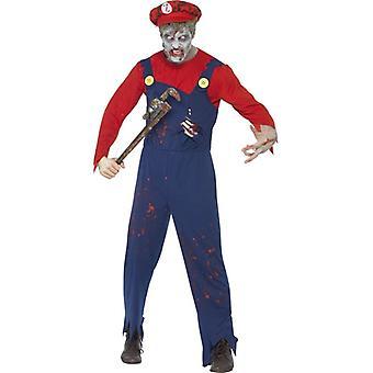 Smiffy Zombie Klempner Kostüm