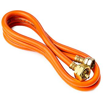 5ft LPG Propane Pressure Hose - 300PSI - Pressure Hose Designed for Propane-Butane Gas with W21.8-14 Fitting