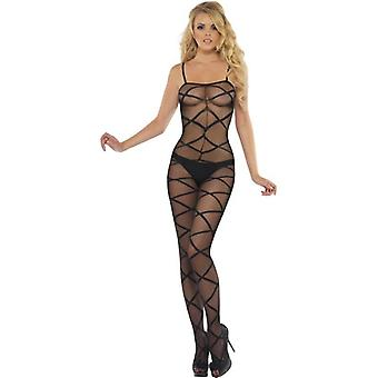 Sheer Body Stocking, One Size
