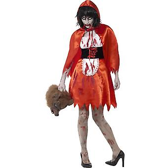 Zombie Little Miss Hood Costume, Large