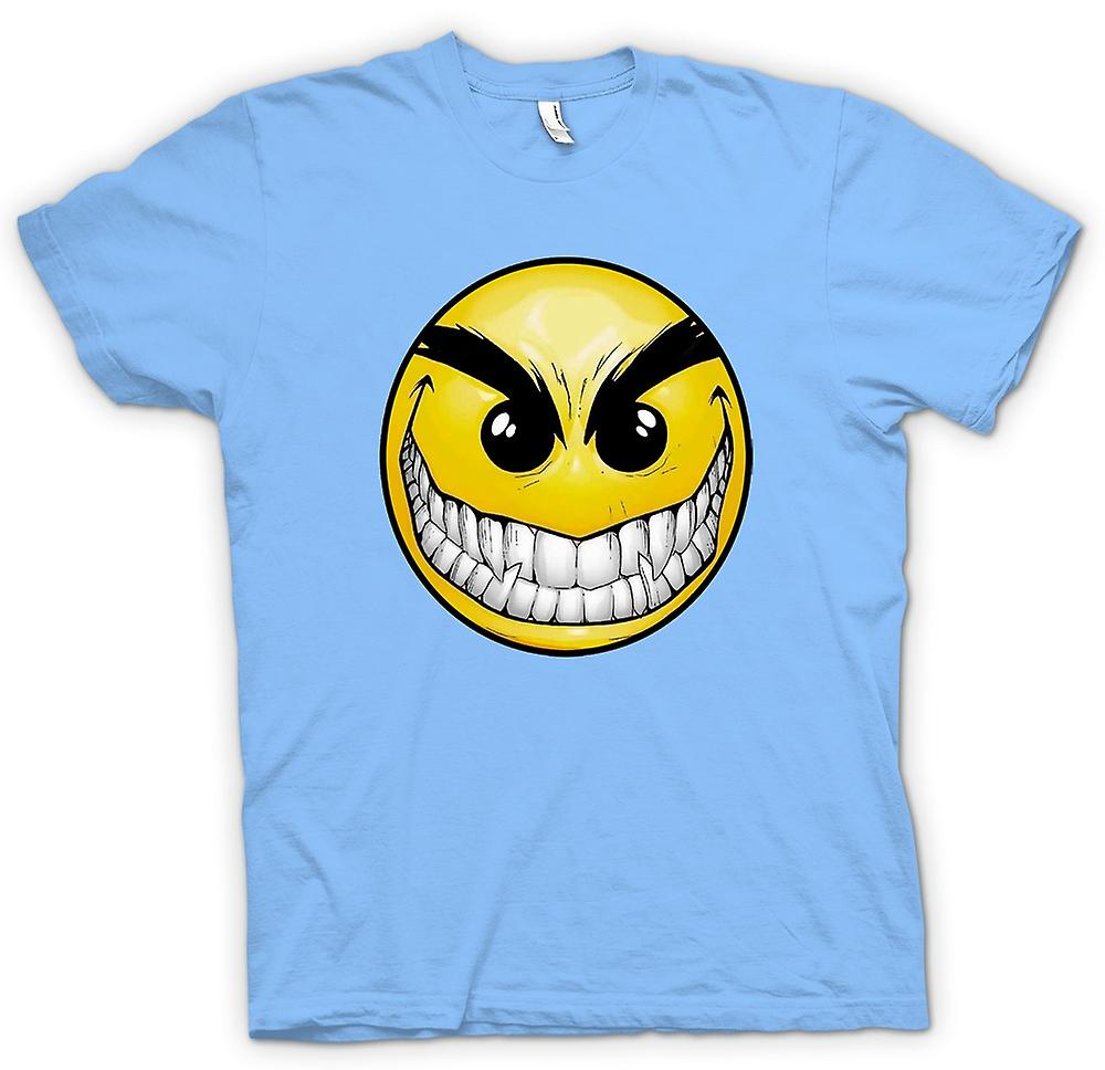 Hombres camiseta-Smiley Face - dientes - Acid House