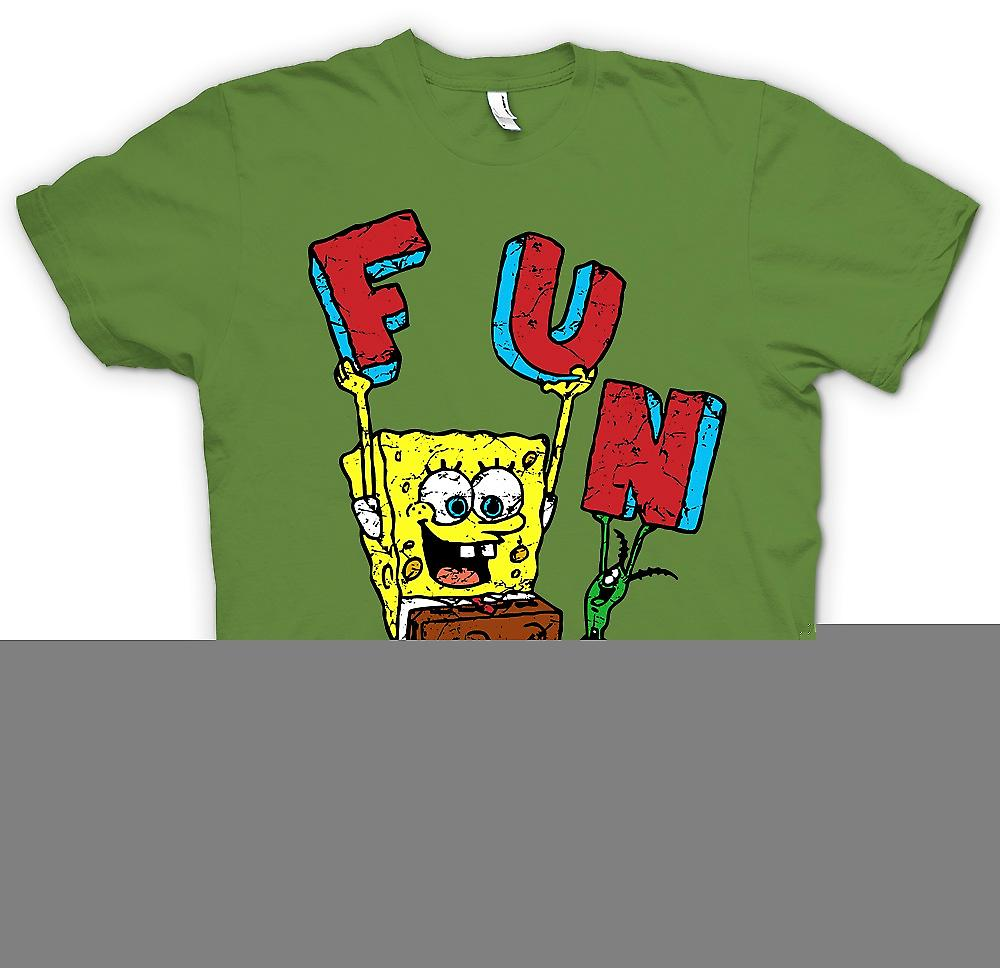 Heren T-shirt - Sponge Bob - Fun
