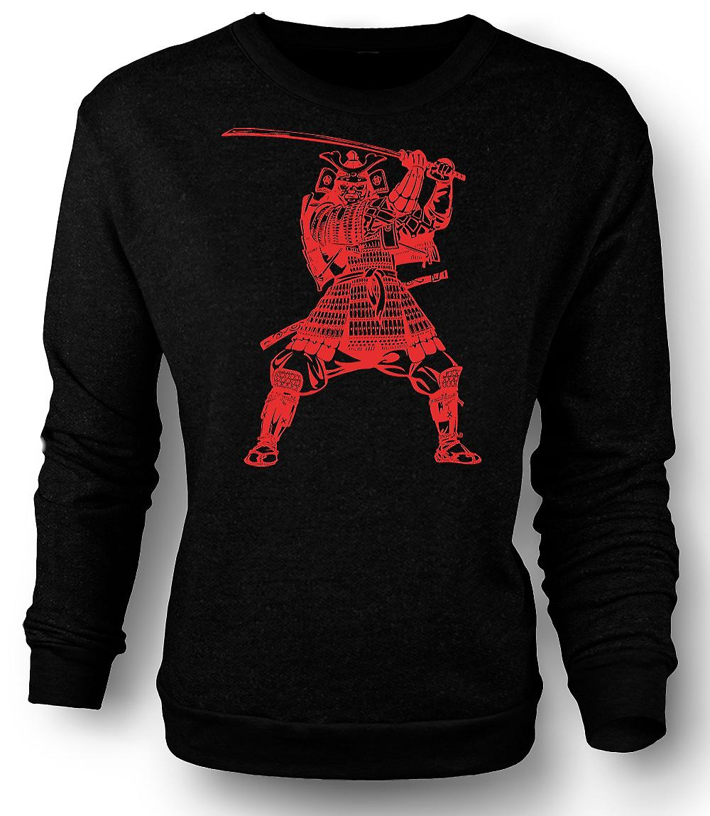 Mens Sweatshirt Samurai Warrior