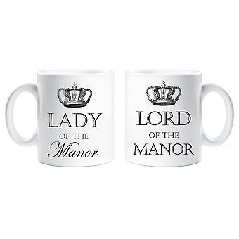 Sagan om Manor och Lady av Manor mugg