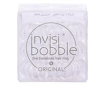 Invisibobble Crystal Clear 3 eenheden Womens kapsalon producten verzegeld Boxed