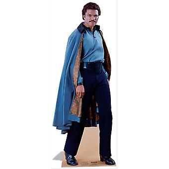 Lando Calrissian de Star Wars grandeur nature en carton Découpe / Standee / Standup