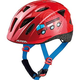 Alpina Ximo child bicycle helmet / / red firefighter