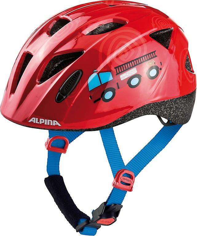 Casque de vélo enfant Alpina Ximo     rouge pompier