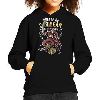 Piraat Carribean Kid de Hooded Sweatshirt