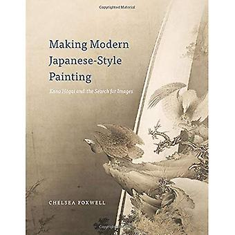 Fazer pintura moderna de estilo japonês: Kano Hogai e a busca de imagens
