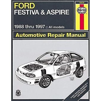 Ford Festiva och Aspire (88-97) Automotive Reparationsmanual (Haynes bilreparationer manualer)
