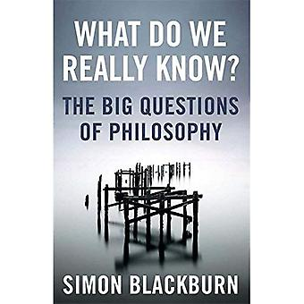 Que savons-nous vraiment?: les grandes Questions de philosophie: les grandes Questions de la philosophie