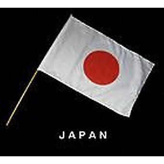 Japan Hand Held flagga
