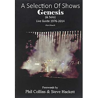 A Selection of Shows: Genesis & Solo Live Guide 1976-2014