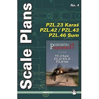 Scale Plans PZL.23 Karas