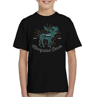 Gamle Moose Farm barns T-Shirt
