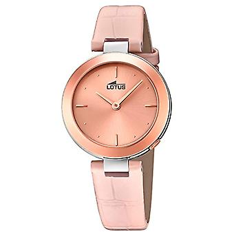 Lotus Analog quartz ladies watch with leather 18485/2