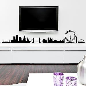 LONDON SKYLINE WALL ART STICKER - Medium