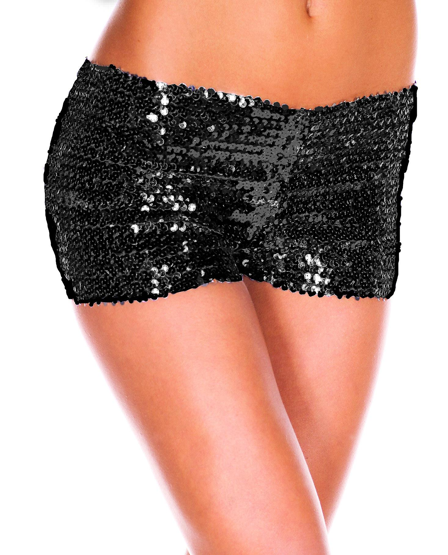 Waooh - sexy Shorty covered with sequins