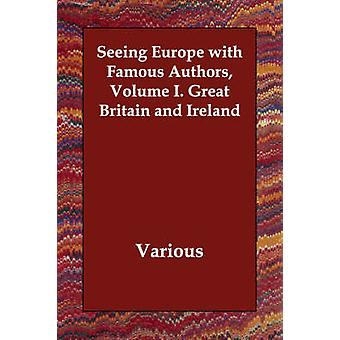 Se Europa med berømte forfattere volum jeg. Storbritannia og Irland av ulike