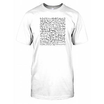 Physics Complex Equations Kids T Shirt