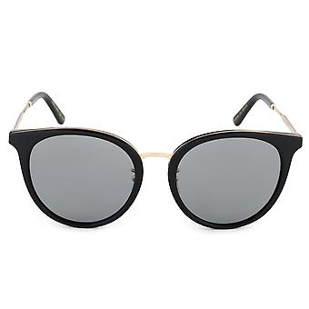 Gucci Oval solbriller GG0204SK 001 56