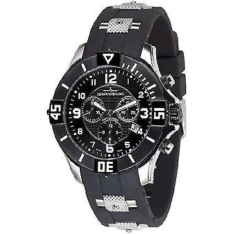 Zeno-watch mens watch quartz 1 chronograph 5430Q-SBK-h1