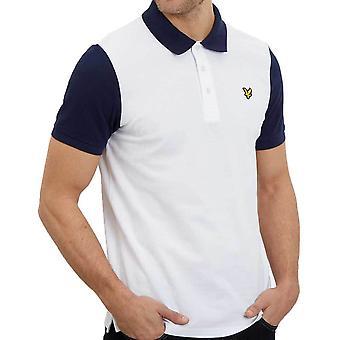 Lyle & Scott Mens Ringer Sleeve Polo Shirt   SP1005V