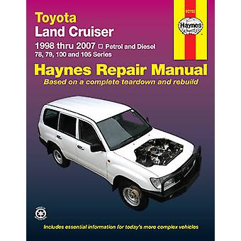 Toyota Landcruiser Service and Repair Manual - 2005 to 2007 - 97815639