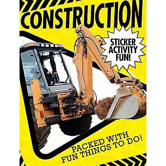 Construction Sticker Activity Fun by Libby Walden - Tales Tiger - 978