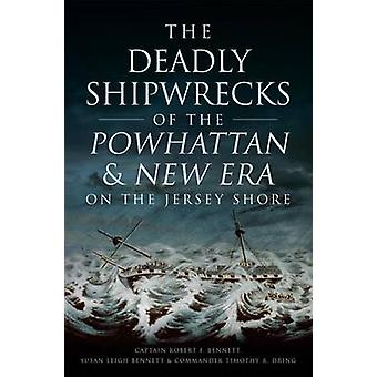 The Deadly Shipwrecks of the Powhattan & New Era on the Jersey Shore